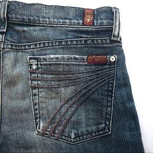 7 For All Mankind | DOJO Wide Leg Flare Jeans—28